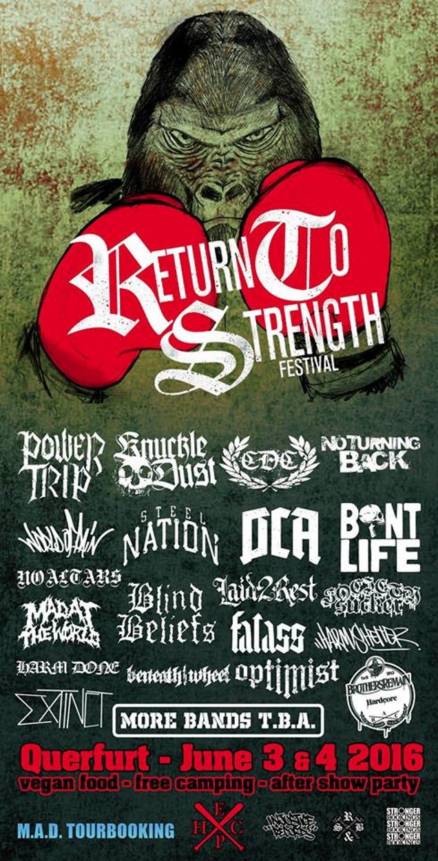 RETURN TO STRENGTH 2016