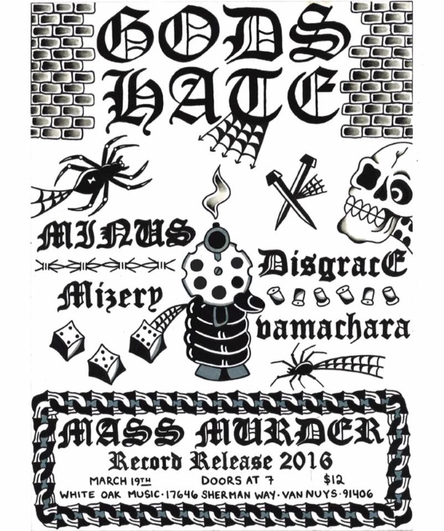 GODS HATE record release