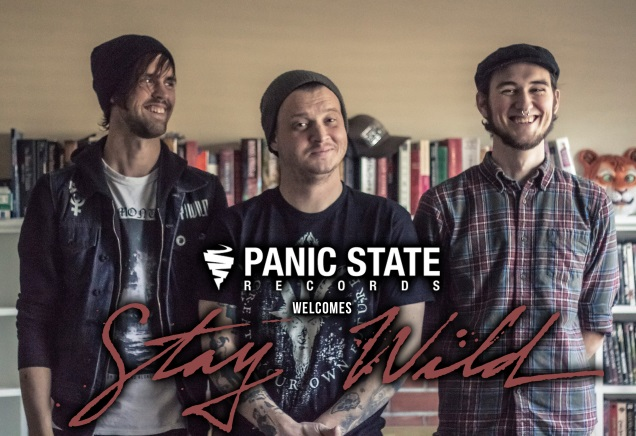 Panic State Records signs STAY WILD
