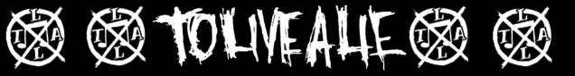 To Live A Lie records logo