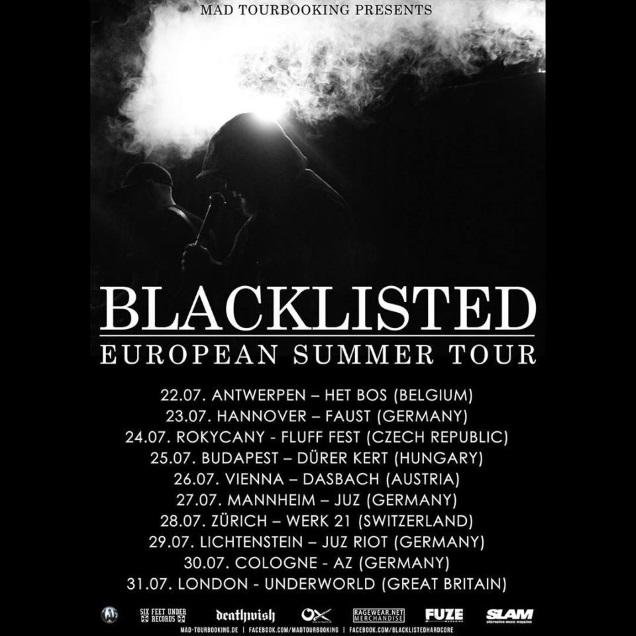BLACKLISTED tour