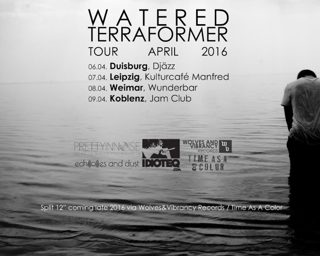 WATERED tour poster