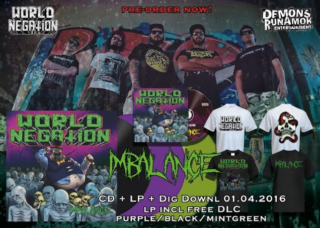 WORLD NEGATION promo!