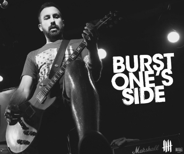 BURST ONE'S SIDE