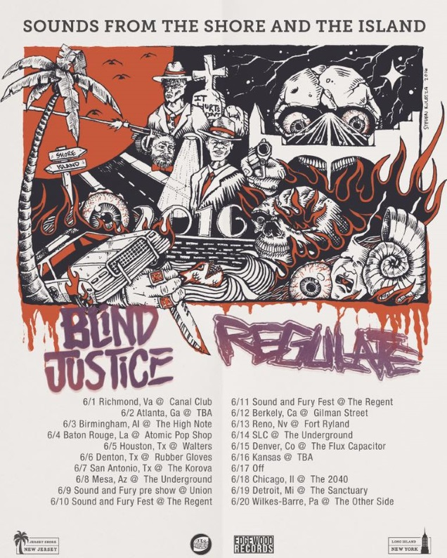 REGULATE tour