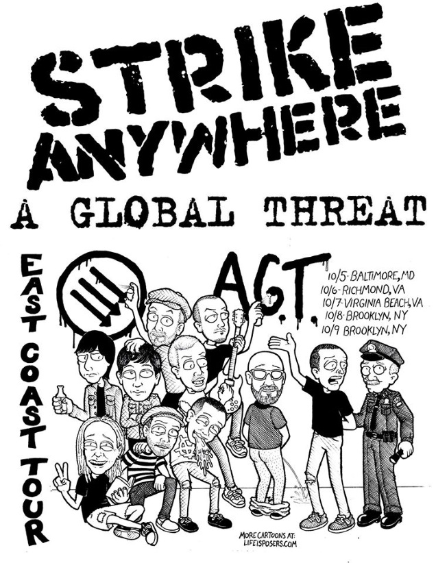 STRIKE ANYWHERE band