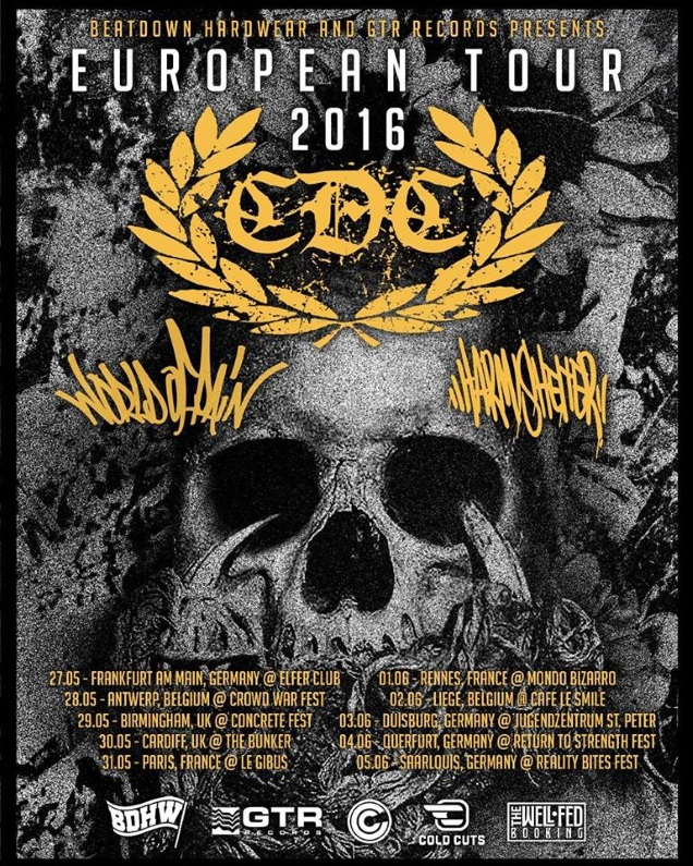 WORLD OF PAIN Euro Tour