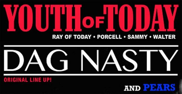 YOUTH OF TODAY poster