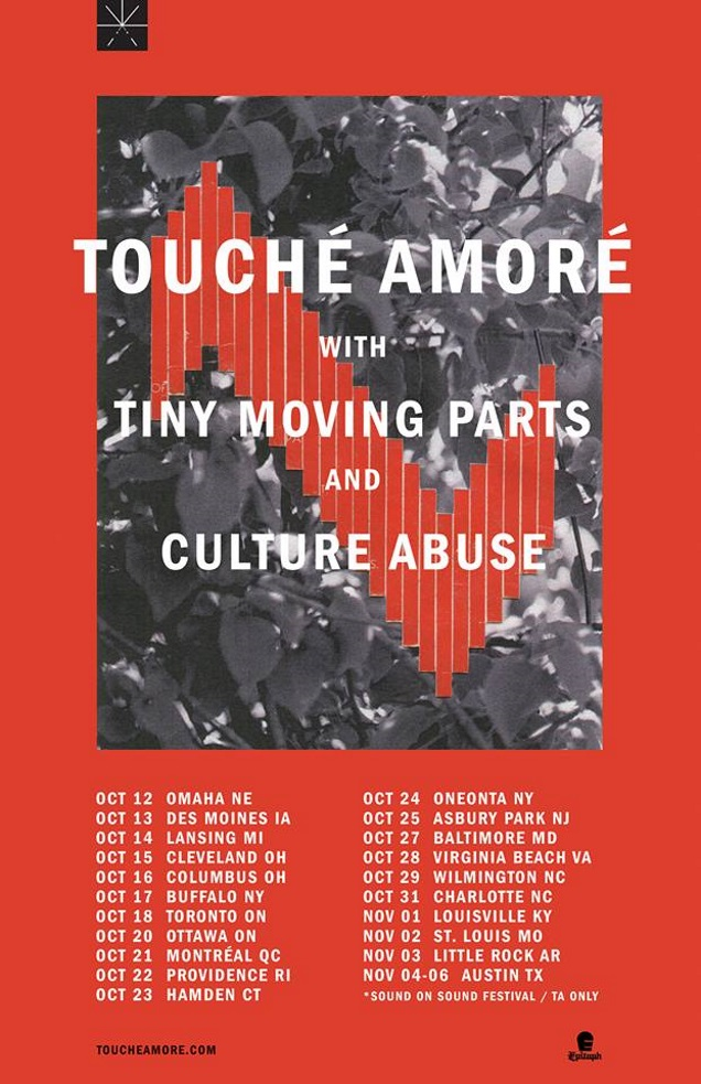 TOUCHE AMORE dates