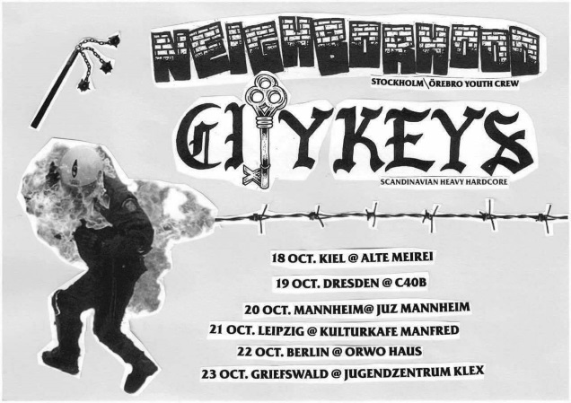 CITY KEYS tour