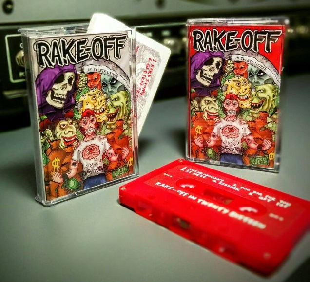 RAKE OFF tapes