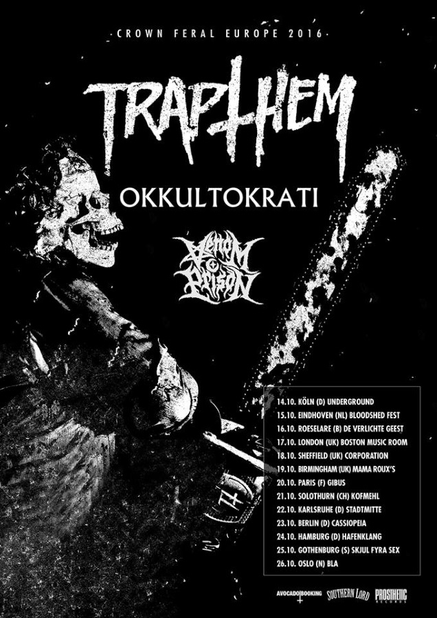 TRAP THEM European tour