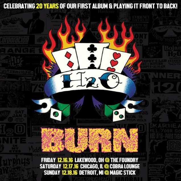 BURN live shows