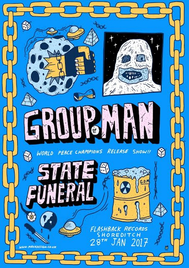 GROUP OF MAN release show