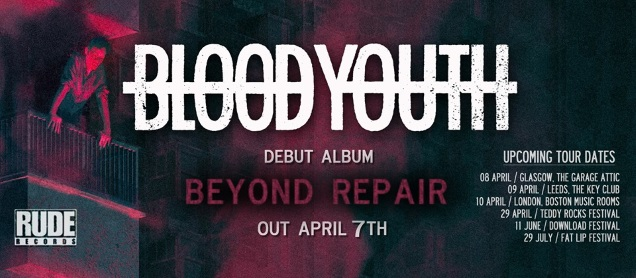 BLOOD YOUTH dates