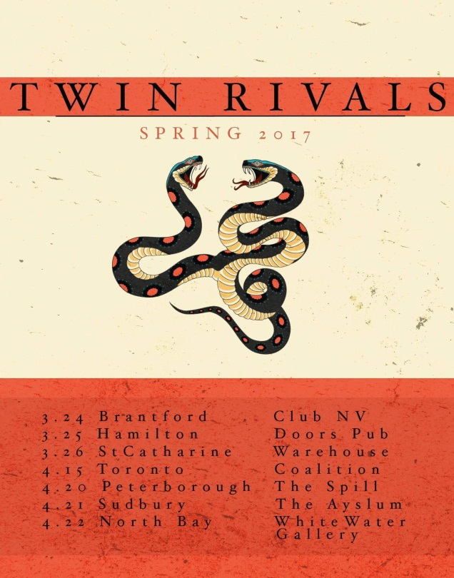 TWIN RIVALS tour