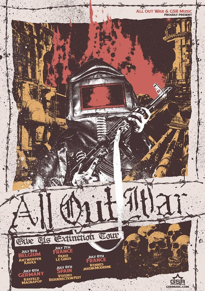 ALL OUT WAR July
