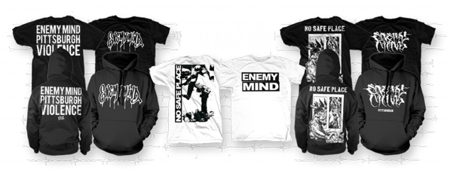 ENEMY MIND merch