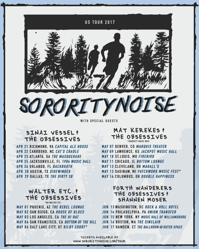 SORORITY NOISE tour