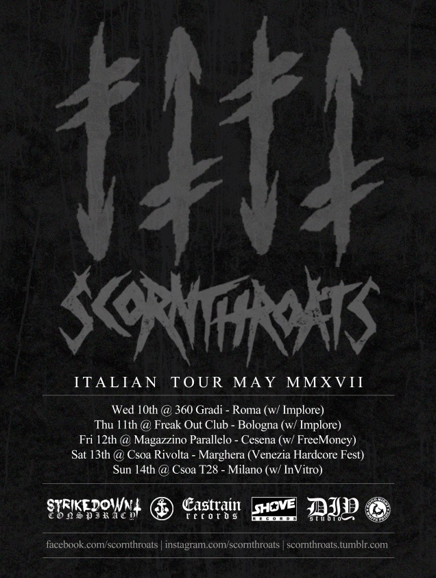 Scornthroats.Italian.Tour