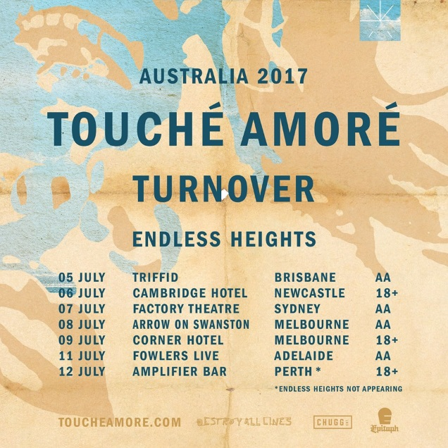 TOUCHE AMORE Aussies