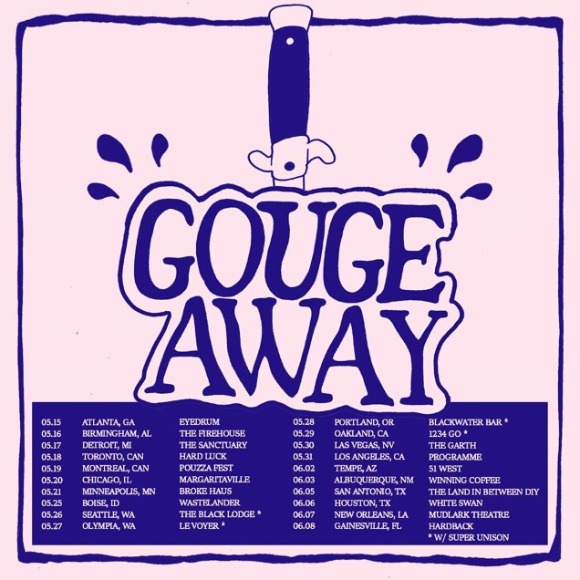 GAUGE AWAY tour
