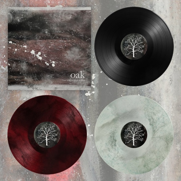 """OAK vinyl """"Your Mess as Much as Mine"""""""