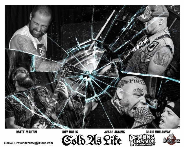 COLD AS LIFE promo!