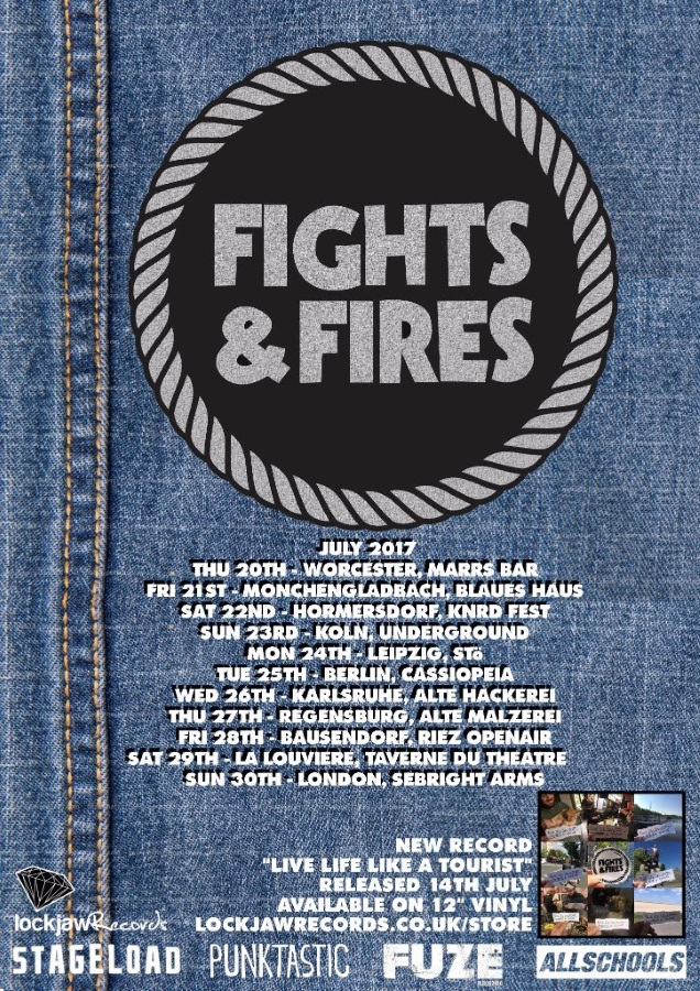 FIGHTS FIRES tour