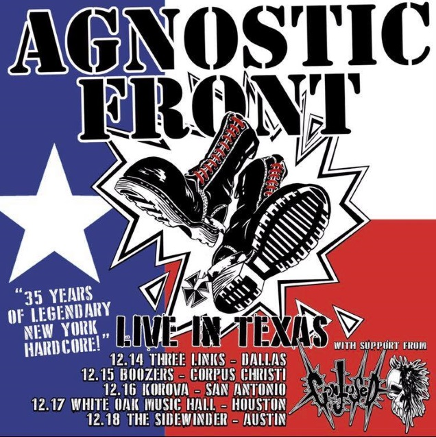 AGNOSTIC FRONT 35 years gigs