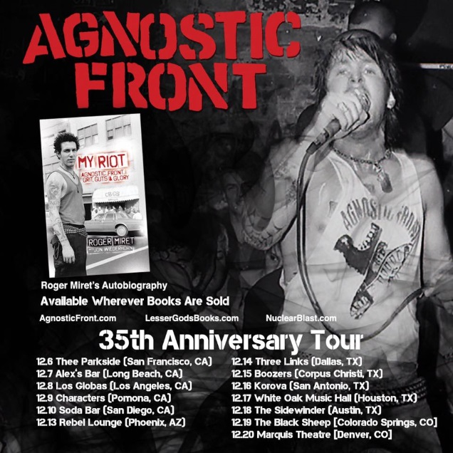 AGNOSTIC FRONT 35 years