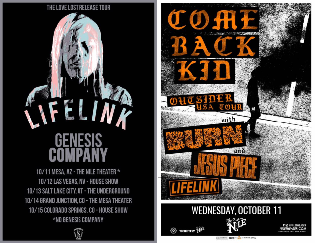 LIFELINK shows!