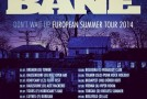BANE European tour announced!