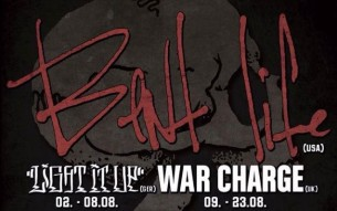 BENT LIFE / WAR CHARGE European tour video