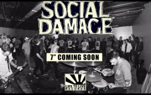 "SOCIAL DAMAGE launch pre-orders for their new 7""!"