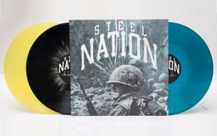 "STEEL NATION release a new track from their upcoming album ""Harder They Fall""!"