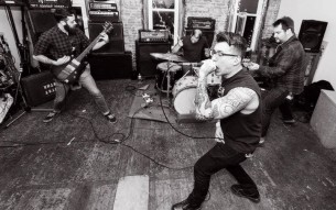 BOROUGHS / FALTER split premiere & double interview!