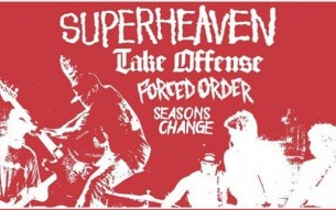 TURNSTILE / TAKE OFFENSE / FORCED ORDER live at Chain Reaction!