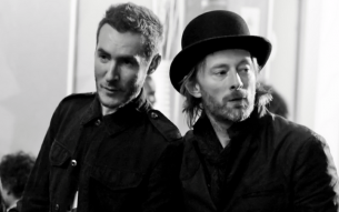 "RADIOHEAD's Thom Yorke and MASSIVE ATTACK's Robert Del Naja streaming their joint soundtrack to ""UK Gold""!"