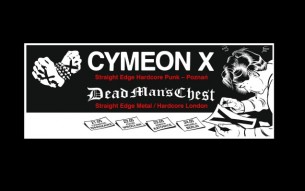 "CYMEON X / DEAD MAN'S CHEST ""Straight Edge Tour 2015″"