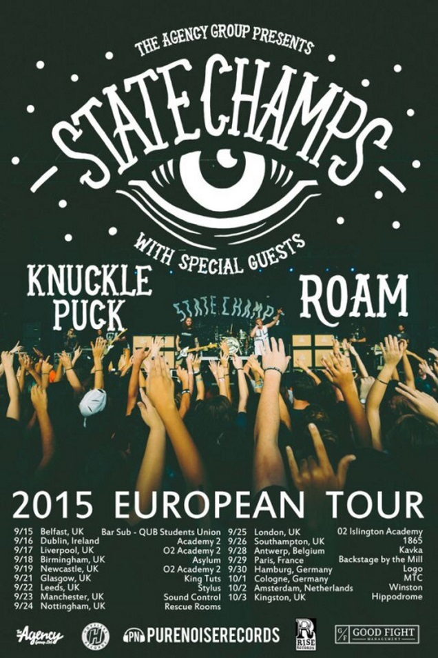 STATE CHAMPS on tour