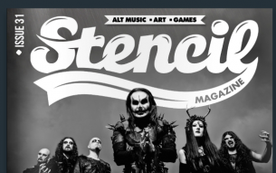 Stencil Mag #31 is up now for free!