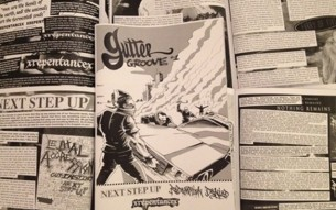 The first issue of Gutter Groove fanzine is out!