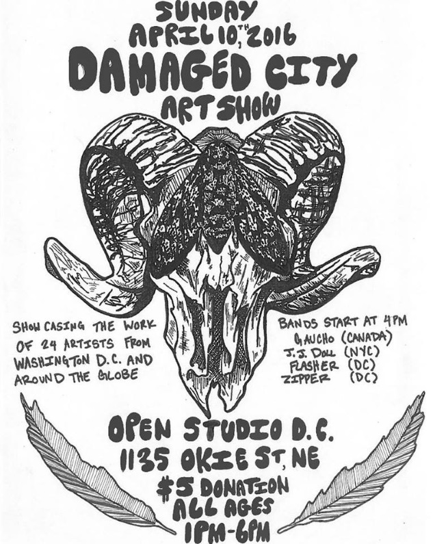 DAMAGD CITY art show