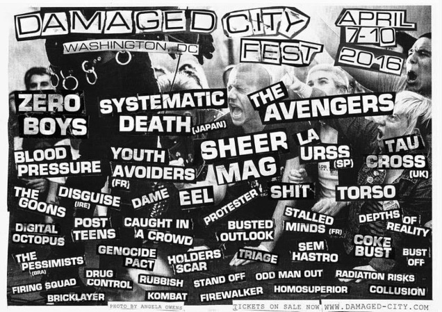 DAMAGED CITY fest!