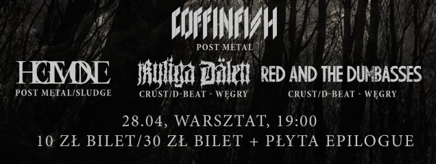 COFFINFISH record release show