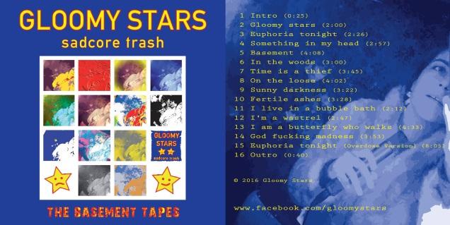 GLOOMY STARS cover