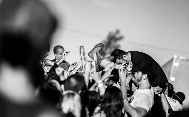 DEFTONES live at ARF, by Nick Ghattas