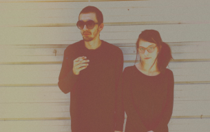 Gloomy indie alt pop duo ALLY GOLD streaming new EP