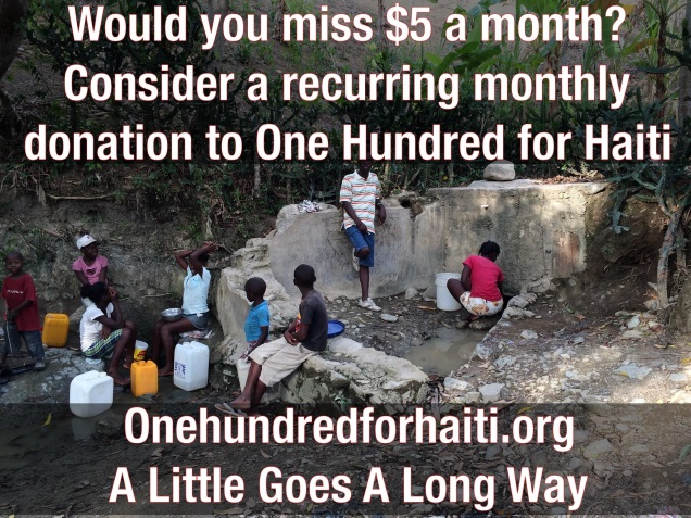 HAITI donations